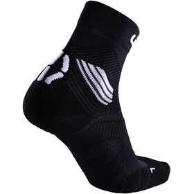 UYN Run Trail Challenge Socks Men Black/White